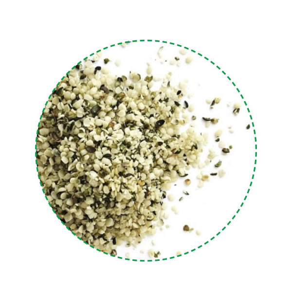 HEMP SEEDS, HULLED